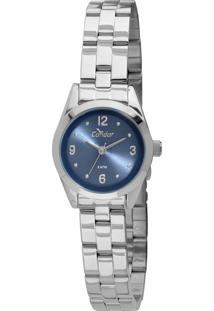 Relógio Condor Mini Prata - Co2035Kme/3A