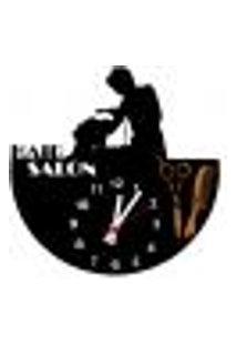 Relógio De Parede Decorativo - Modelo Salão De Beleza - Me Criative - 28X28Cm