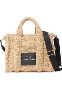 Marc Jacobs Bolsa Tote The Traveller Teddy - Neutro