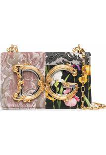 Dolce & Gabbana Dg Girls Patchwork Shoulder Bag - Preto