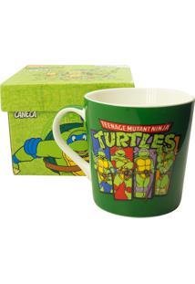 Caneca Minas De Presentes Tartarugas Ninja Verde