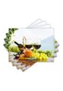 Jogo Americano - Vinho Com 4 Peças - 917Jo