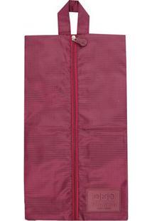 Bolsa Porta Sapato- Bordã´- 36X21X5Cm- Jacki Desijacki Design
