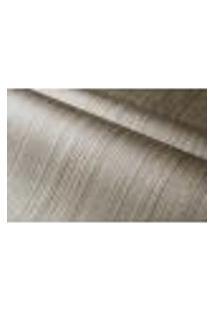 Papel De Parede Importado Vinilico Lavavel 53Cm X 10M Listrado Com Textura Marrom, Cinza E Dourada