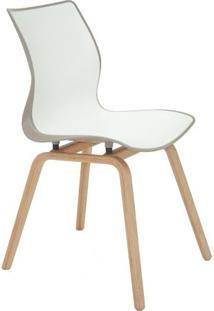 Cadeira Maja- Branca & Cinza- 84,5X59,5X46Cm- Trtramontina
