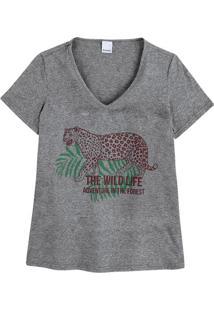 Blusa Sustentável Decote V Malwee