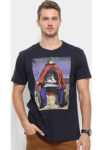 Camiseta Reserva Gaiola Masculina - Masculino