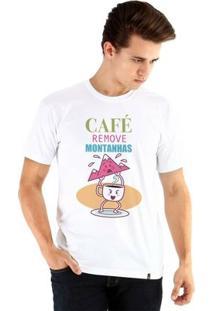 Camiseta Ouroboros Manga Curta O Poder Do Café - Masculino