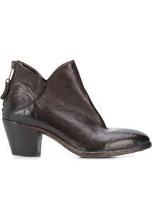 Elena Iachi Ankle Boot 'Giorgia' - Marrom