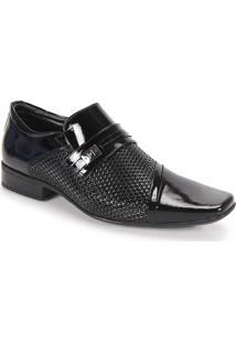 Sapato Social Masculino Jota Pe - Preto