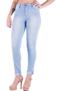 Calça Jeans Prime Delave Lisa Azul