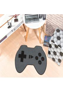 Tapete Formato Feltro Antiderrapante Controle Video Game Cinza - Multicolorido - Dafiti