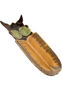 Petisqueira Decorativa De Cerâmica Inseto Many