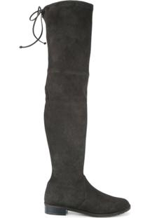2185539be1 Farfetch. Stuart Weitzman Bota Over The Knee   ...