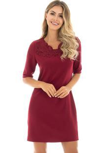 6a47c12e334b Vestido Mandi Marsala feminino | Shoelover