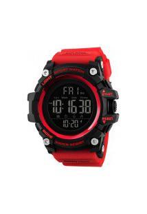 Relógio Skmei Masculino -1384- Vermelho
