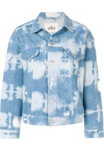 Levi'S: Made & Crafted Tie Dye Denim Jacket - Azul