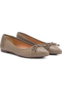Sapatilha Shoestock Matelassê Bico Fino - Feminino