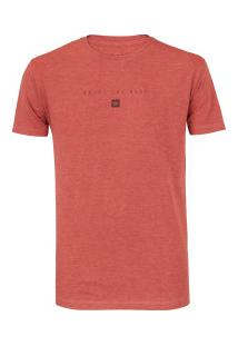 Camiseta Hang Loose Silk Clean - Masculina - Coral