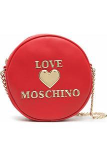 Love Moschino Bolsa Transversal - Vermelho