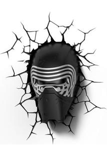 Luminária De Parede - 3D - Disney - Star Wars - Episódio Vii - Kylo Ren - Beek Geeks