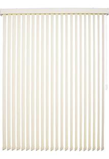 Persiana Tecido 89Mm Isadora Design Vertical 2,40Mx1,80M Bege