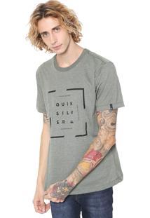 Camiseta Quiksilver Square Verde