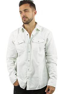 Camisa John John Sky Masculina - Masculino-Jeans Claro