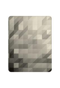 Tapete Love Decor Sala Wevans Polygon Clean Cinza Único