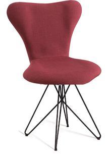 Cadeira Jacobsen Butterfly T1076-Daf Mobiliário - Marsala