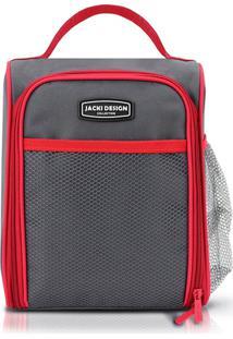 Bolsa Térmica Com Alça Jacki Design Ahl16016 Vermelha