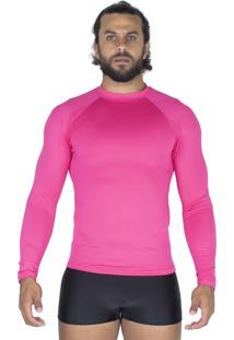 Camisa Bravaa Modas Térmica 037 Rosa