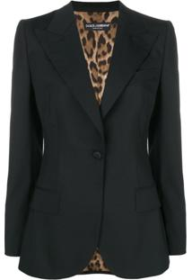 Dolce & Gabbana Blazer Slim - Preto