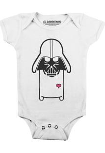 Cuti Vader - Body Infantil