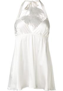 Gilda & Pearl Camisola 'Kitty' - Branco