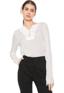 Blusa Dudalina Mullet Off-White