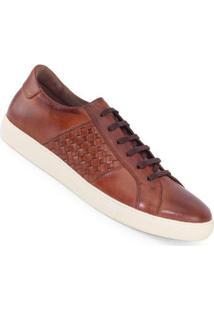 Sapatênis Meu Sapato Tressê Masculino - Masculino-Marrom