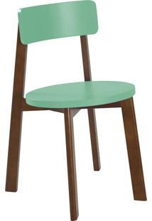 Cadeira Lina 75 Cm 941 Cacau/Verde Anis - Maxima