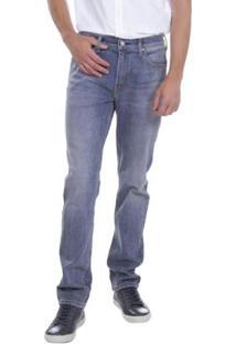 Calça Jeans Levis 511 Slim Média Masculina - Masculino-Azul