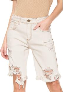 Bermuda Sarja Forum Boyfriend Off-White