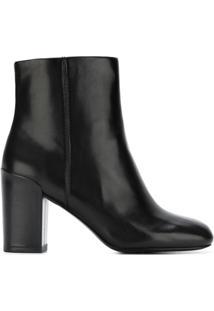 Alexander Wang Ankle Boot De Couro Modelo 'Hana' - Preto
