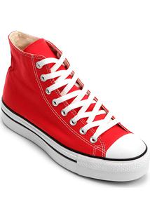 ... Tênis Converse Chuck Taylor All Star Platform Hi - Feminino-Vermelho 2b9e32e2b32f5
