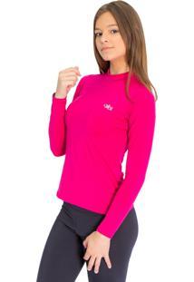 Camiseta Mprotect Térmica Manga Longa Pink