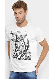 Camiseta Forum Folhas Masculina - Masculino