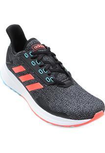 Tênis Adidas Duramo 9 Masculino - Masculino-Preto+Vermelho