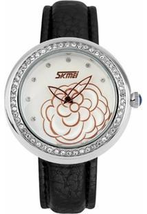 Relógio Skmei Analógico 9087 - Feminino-Preto