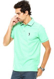 Camisa Polo Aleatory Comfort Verde