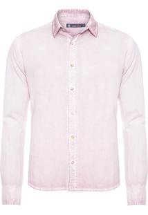 Camisa Masculina Jason - Lilás