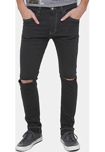 Calça Jeans Skinny Colcci Sarja Felipe Rasgos Masculina - Masculino