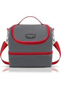 Bolsa Térmica Com 2 Compartimentos Jacki Design Ahl16017 Vermelha